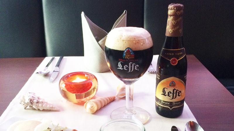 Leffe brune – belgisches Bier